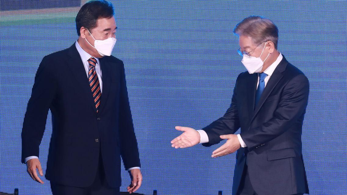 이낙연, 광주·전남 첫 승 거뒀다 47.12%득표···이재명 46.95%