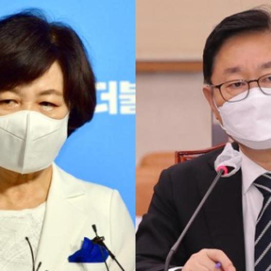 """""""화천대유 길목에 박범계·추미애 라인""""···尹 특검꺼낸 까닭"""